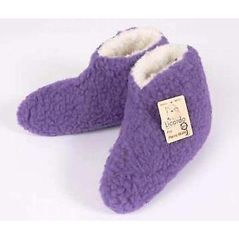 Bed shoes wool purple 40/41