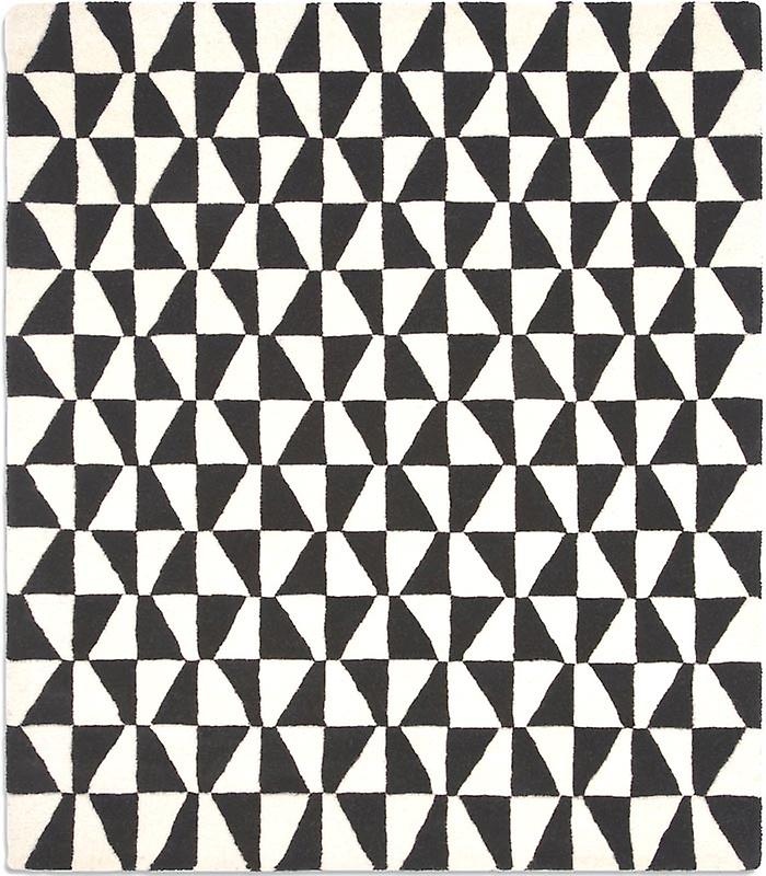 Rugs - Geometric Black / White - Geo01
