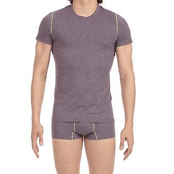 HOM Sport Waves T Shirt - Grey
