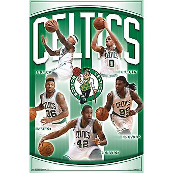 Boston Celtics - Team 16 Poster Print