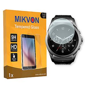 LG Watch Urbane 2nd Edition Screen Protector - Mikvon flexible Tempered Glass 9H (Retail Package with accessories)