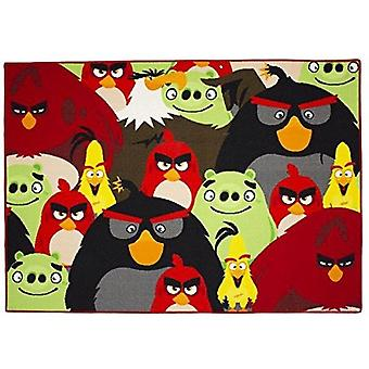 Angry Birds 95x133cm Schlafzimmer Teppich