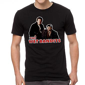 Home Alone The Wet Bandits Men's Black T-shirt