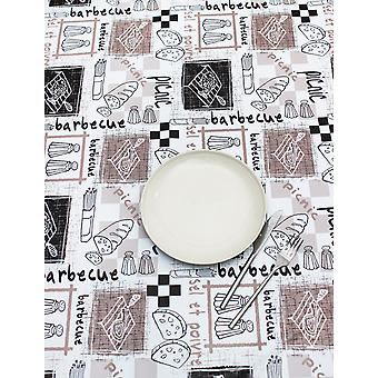 Peggy Wilkins Pvc Tablecloth Barbecue Design