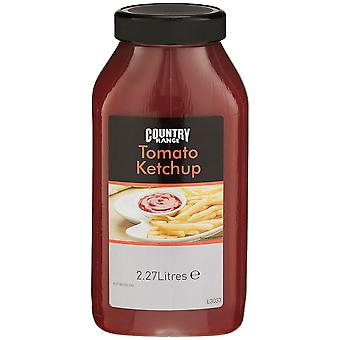 Land-Bereich Tomatenketchup