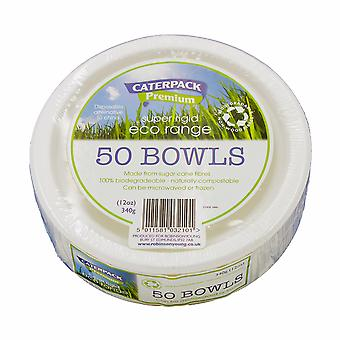Eco Super Rigid Biodegradeable Bowl 12oz