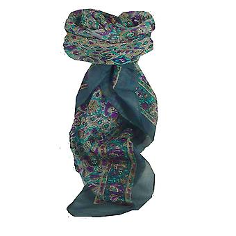 Mulberry Silk Traditional Square Scarf Har Pearl by Pashmina & Silk