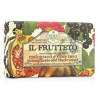 Nesti Dante Il Frutteto Nourishing Soap - Pomegranate & Blackcurrant - 250g/8.8oz