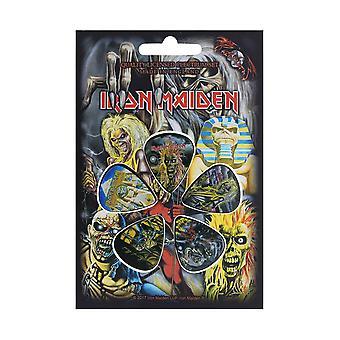 Iron Maiden 5 плектр Pack (rz)