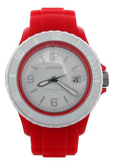 Waooh - Watch Dial & Bezel MONACO 38 White