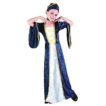 Regal Princess Blue (Medium Age 6-8)