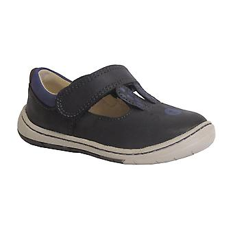 Clarks Girls Shoe Amelio Glo Fst Anthracite Leather