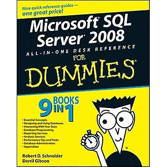 Microsoft SQL Server 2008 All-in-one Desk Reference For Dummies par Ro