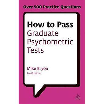 Hur man passera Graduate psykometriska tester - nödvändig förberedelse för Nu
