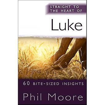 Straight to the Heart of Luke - 60 bite-sized insights by Phil Moore -
