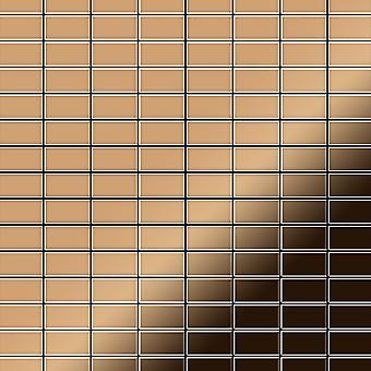 Metal mosaic Titanium ALLOY Bauhaus-Ti-AM