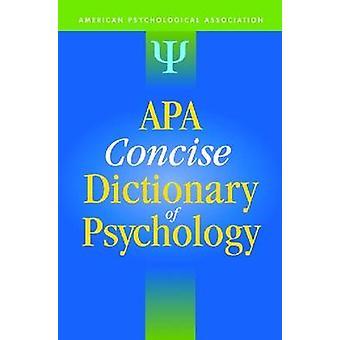 APA-Handwörterbuch der Psychologie von amerikanischen psychologischen Verein