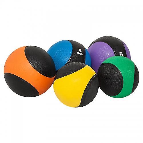 M�decine ball 1kg jaune/noir