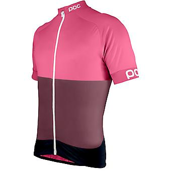 POC Sulfate Multi Pink 2016 Fondo Classic Short Sleeved Cycling Jersey