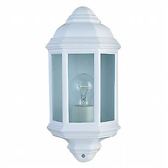 280WH White Outdoor IP44 Wall Lantern
