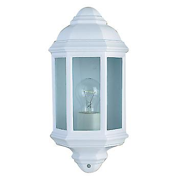 Searchlight 280WH White Outdoor IP44 Wall Lantern