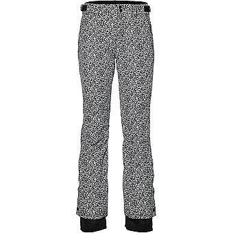 ONeill White Aop-Black Glamour Womens Snowboarding Pants