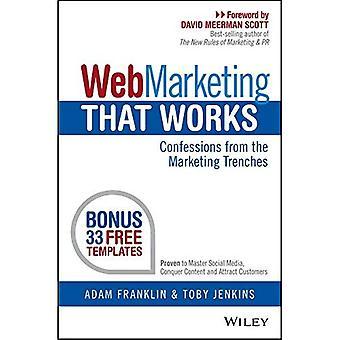 Web markedsføring som fungerer: Confessions fra markedsføring skyttergravene