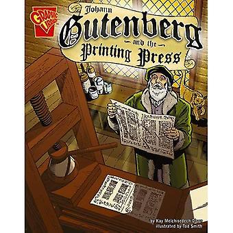 Johann Gutenburg og trykkpressen