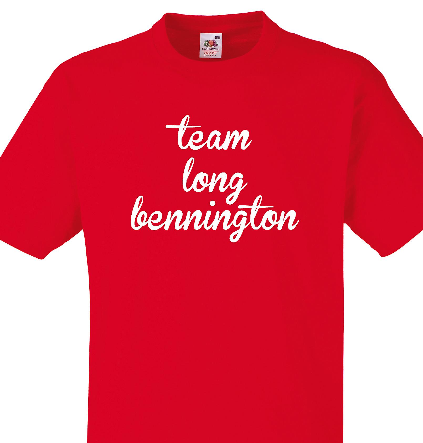 Team Long bennington Red T shirt