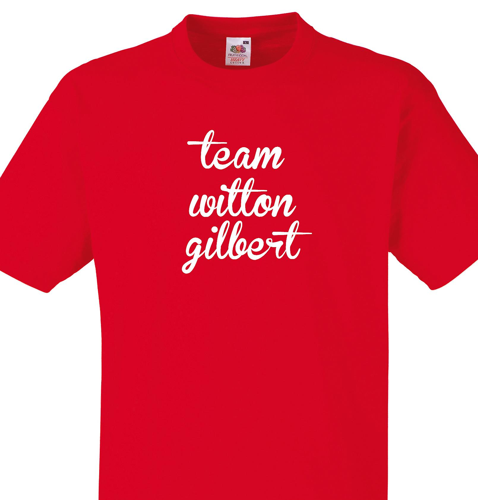Team Witton gilbert Red T shirt