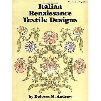 Italian Renaissance Textile Designs (International Design Library)