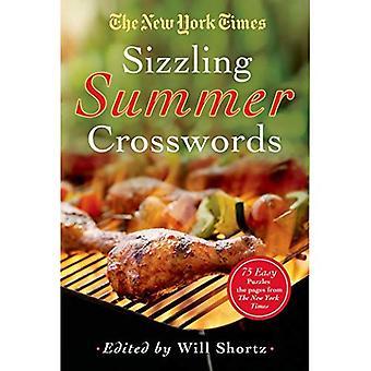 El New York Times Sizzling verano crucigramas: 75 rompecabezas fáciles difícil