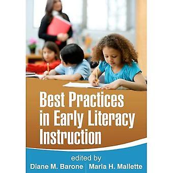 Meilleures pratiques dans l'enseignement précoce de la