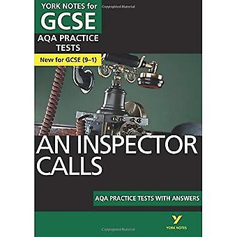 An Inspector Calls AQA Practice Tests: York Notes for GCSE (9-1) - York Notes