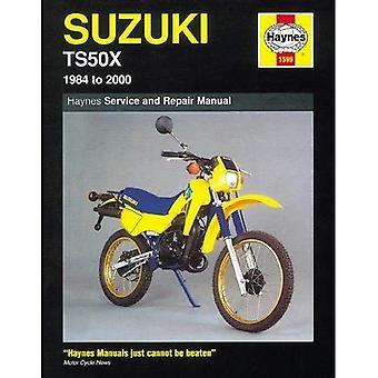 Suzuki TS50X (1984-99) Service and Repair Manual (Haynes Service and Repair Manuals)