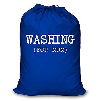 Blue Laundry Bag Washing For Mum