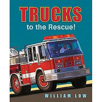 Trucks to the Rescue! [Board book]