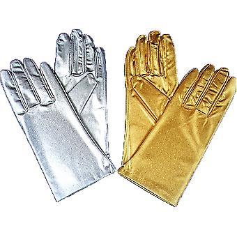手袋 Reg メタリックシルバー