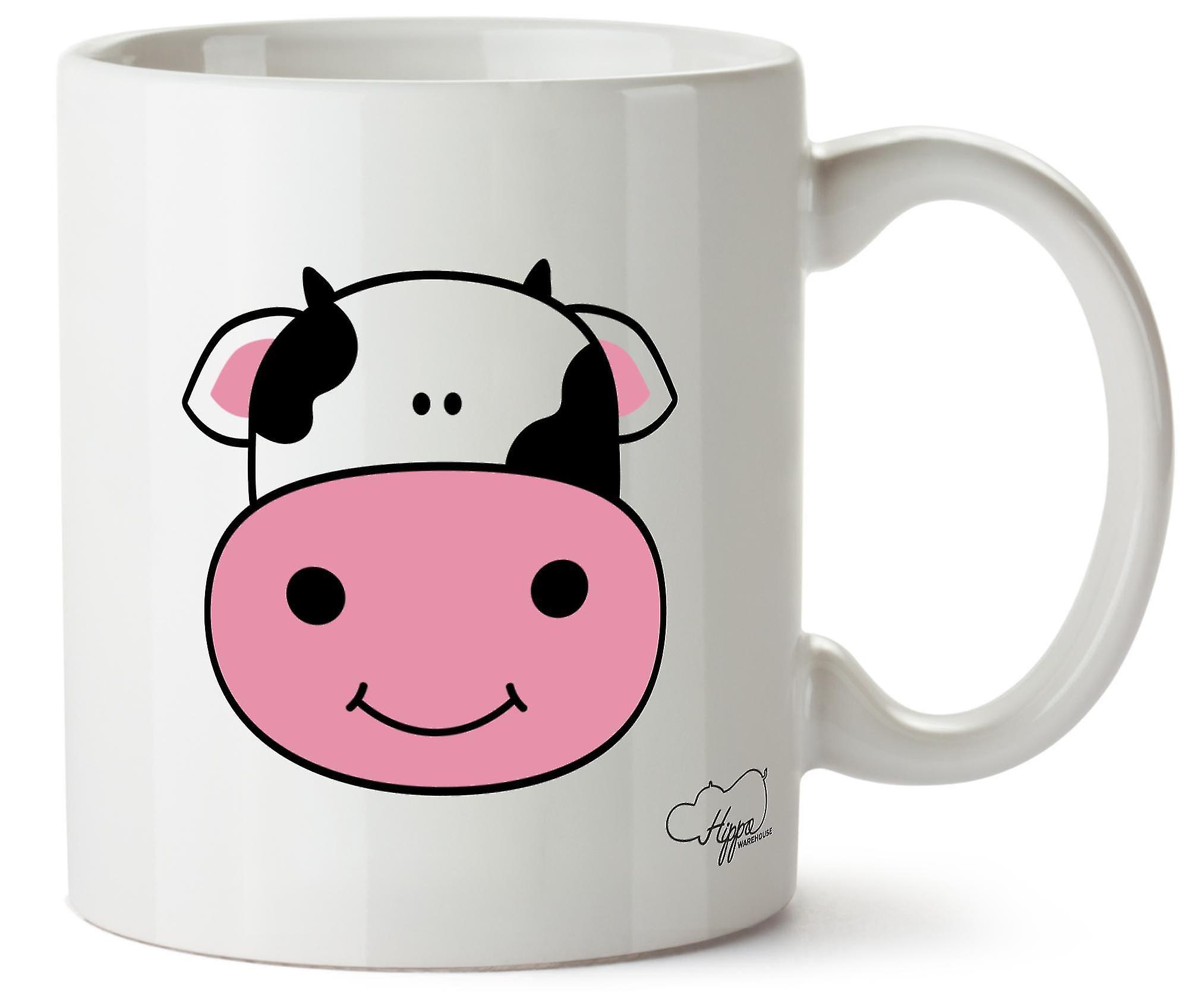 10oz En Céramique Imprimé Vache Hippowarehouse Tasse bf7Yg6y