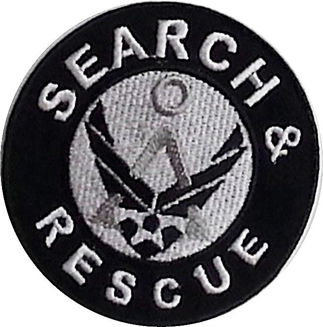 Search & Rescue iron-on / sew on cloth patch (nz)