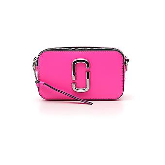 Marc Jacobs Snapshot Pink Leather Shoulder Bag