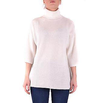 Gotha White Viscose Sweater