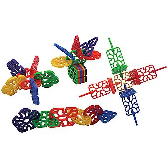 Bigjigs Toys Educational Cool Crazy Connector (432 Pieces) Construction Shapes