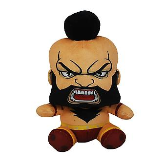 Street Fighter Zangief sittende pose plysj