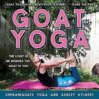 Goat Yoga - The Light in Me Honors the Goat in You by Shenanigoats Yog