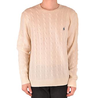 Ralph Lauren White Wool Sweater
