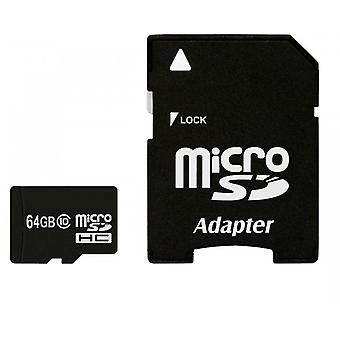 64GB Class 10 Micro SD card + SD adapter + Memory card Maxflash