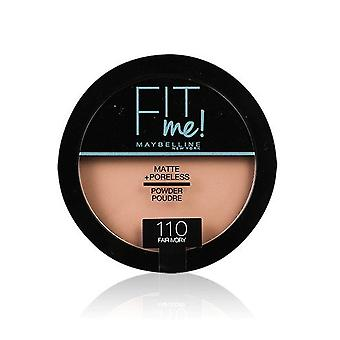 Maybelline Fit Me Matte - Poudre Sans Poreless-110 Fair Ivory