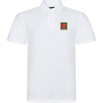 School Of Infantry Instructor - Licensed British Army Embroidered RTX Polo