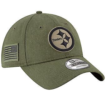 Nouvelle ère 9Twenty Cap - hommage au service Pittsburgh Steelers